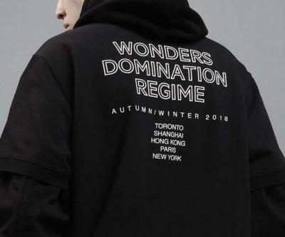 """Wonders Fall/Winter 2018 """"Don't Give Up"""" Collection Highlights Eclecticism in Streetwear"""