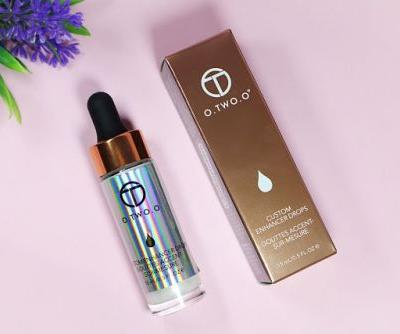 O.Two.O Liquid Highlighter Halo | Review & Swatches