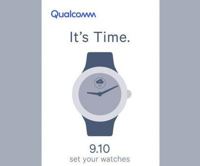 Qualcomm's overdue smartwatch chip may finally come on September 10th