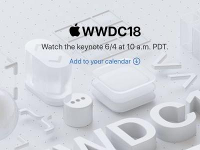 Apple confirms it will live stream WWDC keynote on June 4