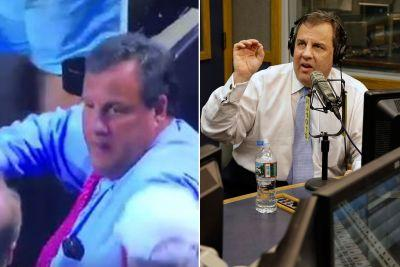 Chris Christie catches foul ball and gets booed at Mets game