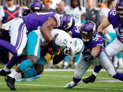 AP source: Dolphins' Gore expected to miss rest of season