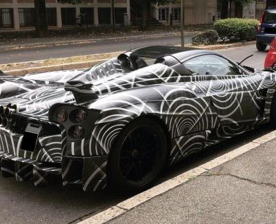 Four New Pagani's Headed For South Africa Including The Unreleased Hardcore Huayra