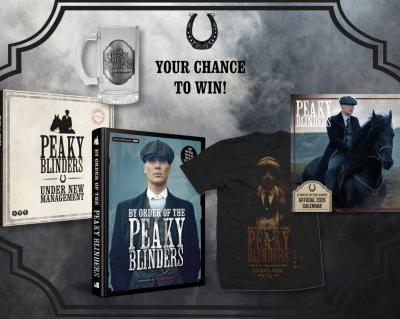 WIN AN OFFICIAL PEAKY BLINDERS PRIZE BUNDLE!