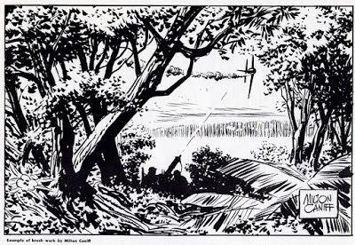 Milton Caniff's Advice on Inking with a Brush