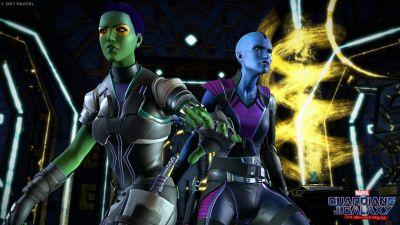 Gamora and Nebula: Your Choices Define a Family