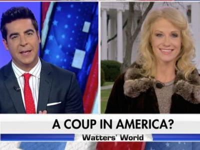 Fox News' Jesse Watters Suggests We May Have Anti-Trump 'Coup on Our Hands in America'