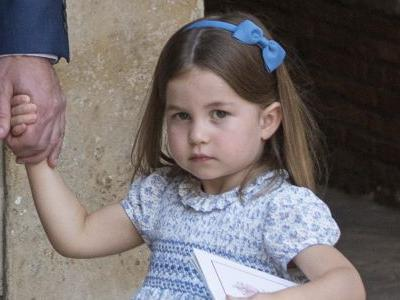 Princess Charlotte Debuts an Adorable New Hairdo at Prince Louis' Christening