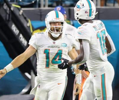 Dolphins' win over Jaguars comes with odd Ryan Fitzpatrick milestone