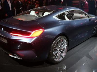 BMW 8-Series Concept Brings Sinister Silhouette To IAA