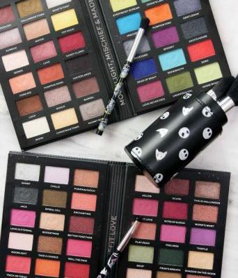 Fans Will Love the Makeup Revolution Nightmare Before Christmas Palettes