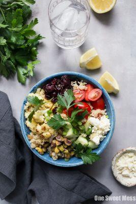 Roasted Cauliflower Quinoa Salad {Gluten-Free + Vegetarian}