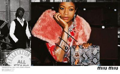 Naomie Harris & the Aboah sisters are the faces of Miu Miu