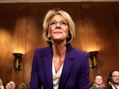Betsy DeVos visited a charter school, praising it as a 'shining example' - now it's shutting down