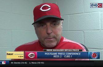 Price discusses decision to pinch hit for Castillo after six shutout innings