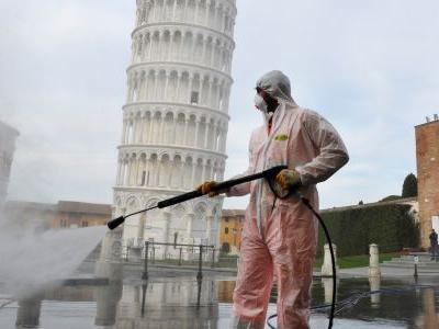 Italy again reported the highest single-day death toll since the coronavirus outbreak began: 919 deaths. Its cases have surpassed China's