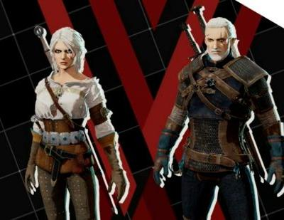 The free skins keep coming as Daemon X Machina adds Geralt and Ciri from The Witcher 3