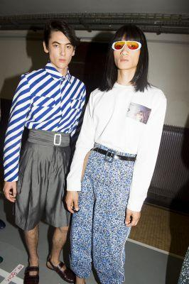 Kenzo Close Things Out With A Combined Men's And Women's Show