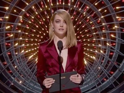 Emma Stone, an Icon, Brilliantly Calls Out Lack of Female Nominees For Best Director at Oscars