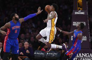 Harris hits big 3, Pistons beat Lakers 102-97 to snap skid
