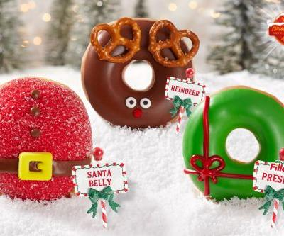 Krispy Kreme's Holiday 2019 Doughnuts Include Classic Faves & New Chocolate Treats