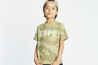 The BAPE Kids 2017 Spring/Summer Collection Brings Streetwear Favorites to the Little Ones