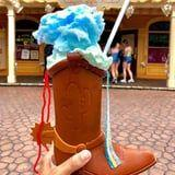 Forget Snakes - Woody's Toy Story Boot Has Cotton Candy and Ice Cream in It at Disneyland