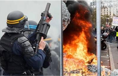 ICYMI: Yellow Vests' anniversary marked with barricades, militarized police & furious protesters