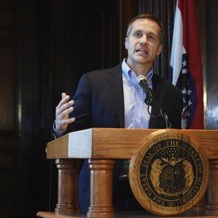 Missouri Gov. Eric Greitens charged over charity donor list