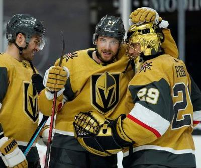 Shea Theodore scores twice, Golden Knights beat Coyotes 5-2