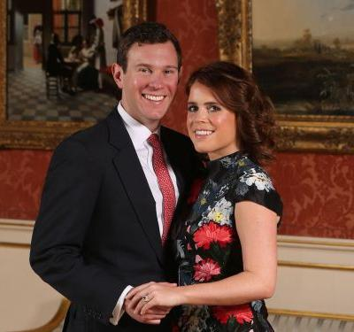 Princess Eugenie and Jack Brooksbank's royal engagement photos have been published