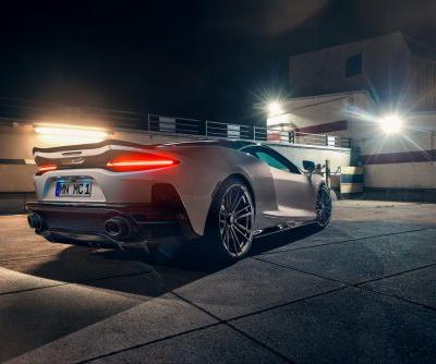 Novitec Give McLaren GT Sportier Styling and 697 HP