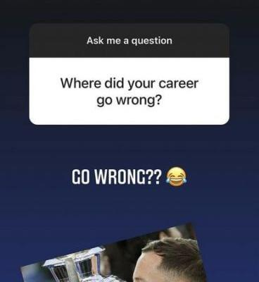 'Where did your career go wrong?' - Drinkwater savaged during Instagram Q&A