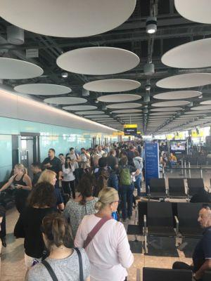 Chaos as global IT failure takes out all British Airways flights out of London