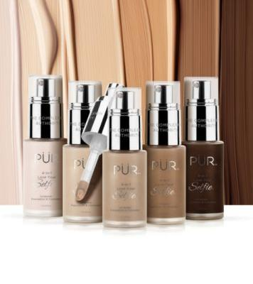 PÜR is Launching 100 Foundation Shades and We're Shook