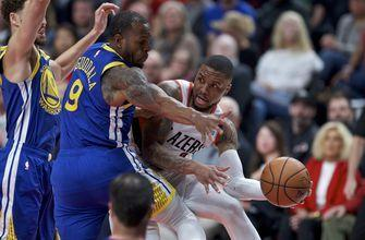 Golden State's Iguodala out for Game 4 with left calf injury