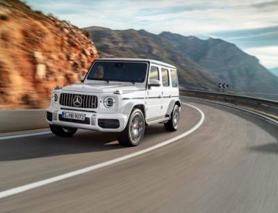 The All-New 2019 Mercedes-AMG G63 Is One Burly Brick