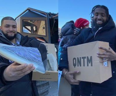 Kanye West Is Giving Out the adidas YEEZY QNTM For Free In Chicago