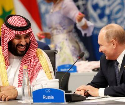 MBS and Vladimir Putin are all smiles at G20 summit