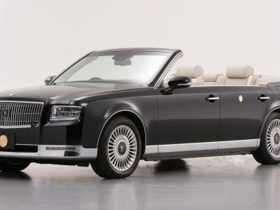 This One-Off Toyota Century Cabriolet Is Fit For An Emperor