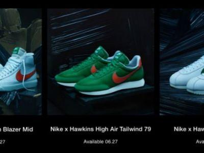 """Nike releasing """"missing"""" Stranger Things shoes from 1985"""