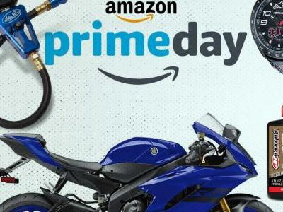 Amazon Prime Day Is Here-Lightning Deals On Sportbike Gear And Accessories