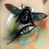 You'll Bug Out Over This Makeup Artist Who Puts Actual Insects on Her Eyes