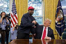 Late-Night Hosts Dissect 'Madman' Kanye West's White House Visit