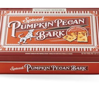 Williams-Sonoma's Spiced Pumpkin Pecan Bark Is A Seasonal Fall Snack You Don't Want To Miss