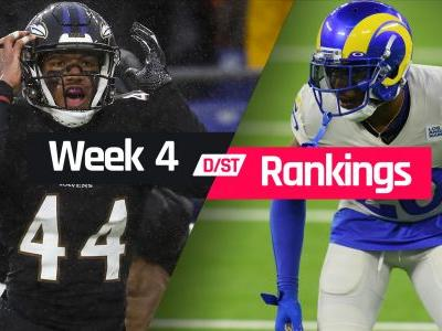 Week 4 Fantasy Defense Rankings: Sleepers, busts, waiver-wire D/ST streamers to target