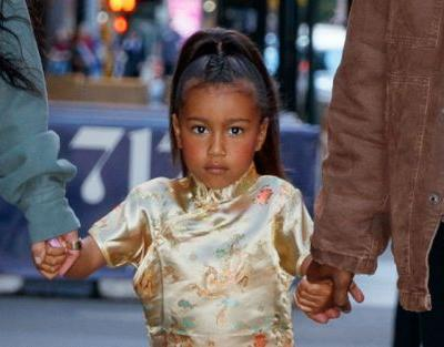Kim Kardashian Reveals That North West Is Already A 'Contour Queen'. At Only 5 Years Old!