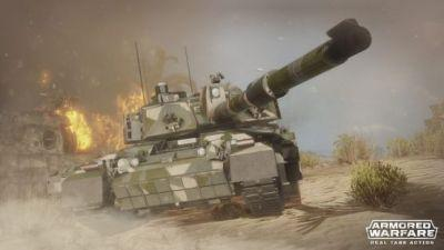 Armored Warfare Coming to PS4 in 2018