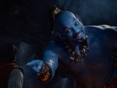 In Defense Of Will Smith's Big Blue Genie In Aladdin