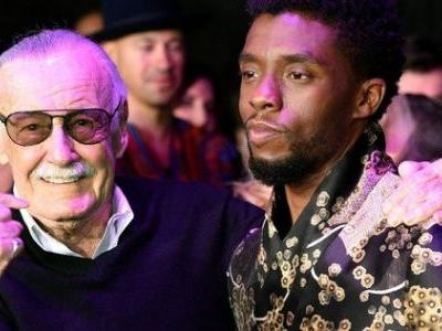 Stan Lee Congratulates Black Panther Team on Their Huge Success